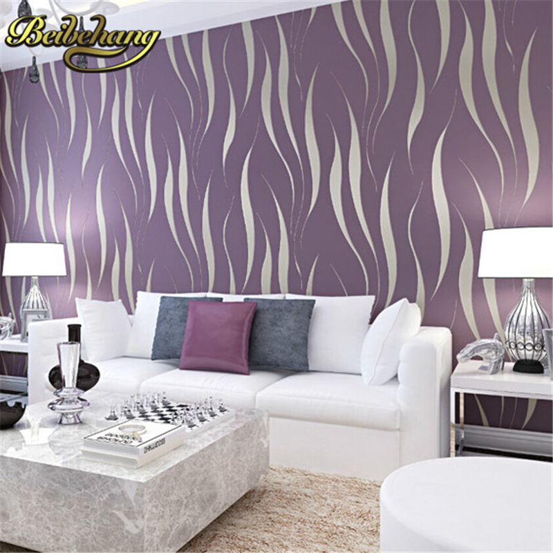 beibehang European Flock Non-woven wallpaper 3D mural Wall paper Wallcoverings papel de parede 3D Wallpaper Roll Home Decoration beibehang roll papel mural modern luxury pattern 3d wall paper roll mural wallpaper for living room non woven papel de parede