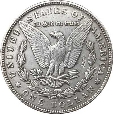 Hobo Nikkel 1921-D Vs Morgan Dollar Munt Copy Type 119