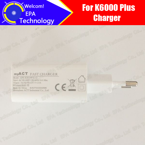 Oukitel K6000 Plus Charger 100% Original New Official Quick Charging Adapter Accessories For K6000 Pluser Mobile Phone