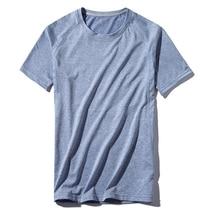 2019 Новая летняя мужская быстросохнущая эластичная Спортивная футболка для бега