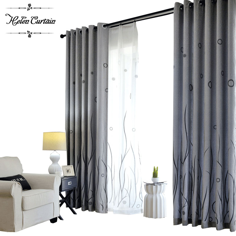 Buy helen curtain 2017 modern jacquard New curtain design 2017