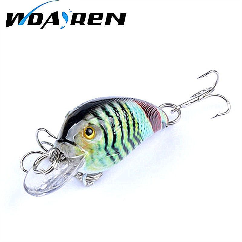 1Pcs small Minnow 4.4cm 4.2g Fishing Lure Wobblers Crank bait artificiais para pesca Hard Bait Swimbait fishing tackle FA-444 1pcs 9cm 7 7g fishing tackle hard minnow top water lure artificial crank bait pencil 8 color fishing 6 hook wobblers spinner