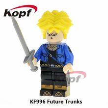 KF996 Future Truks Super Heroes Dragon Ball Z Figures Son Gohan SS Android 17 Goku Building Blocks Action Toys Bricks Gift Kids