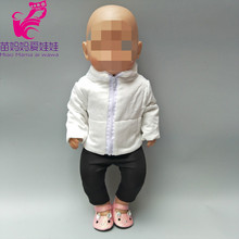 43cm  doll clothes Down jacket for 18 inch new born baby toys oufits accessory girl gifts