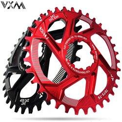 Vxm bicicleta chainwheel 30 t 32 t 34 t 36 t 38 t estreita ampla bicicleta chainring para gxp xx1 x9 xo x01 cnc al7075 peças de manivela