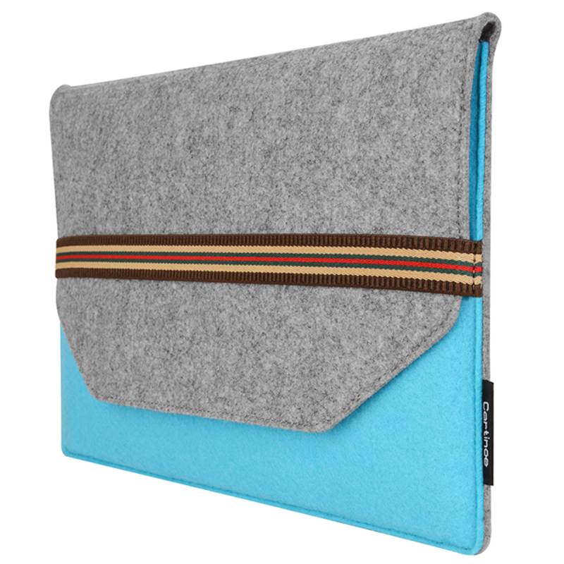 Cartinoe Brand Wool felt Laptop Bag 11 12 13 14 15 Inch Laptop Case Sleeve for Macbook Air 11 Pro 13 Retina 15 4 Notebook Cover in Laptop Bags Cases from Computer Office