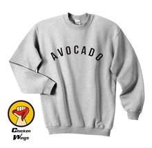 Avocado Shirt Top kale plants are friends edgy veggie vegetarian vegan smiley Tumblr Top Crewneck Sweatshirt Unisex More Colors