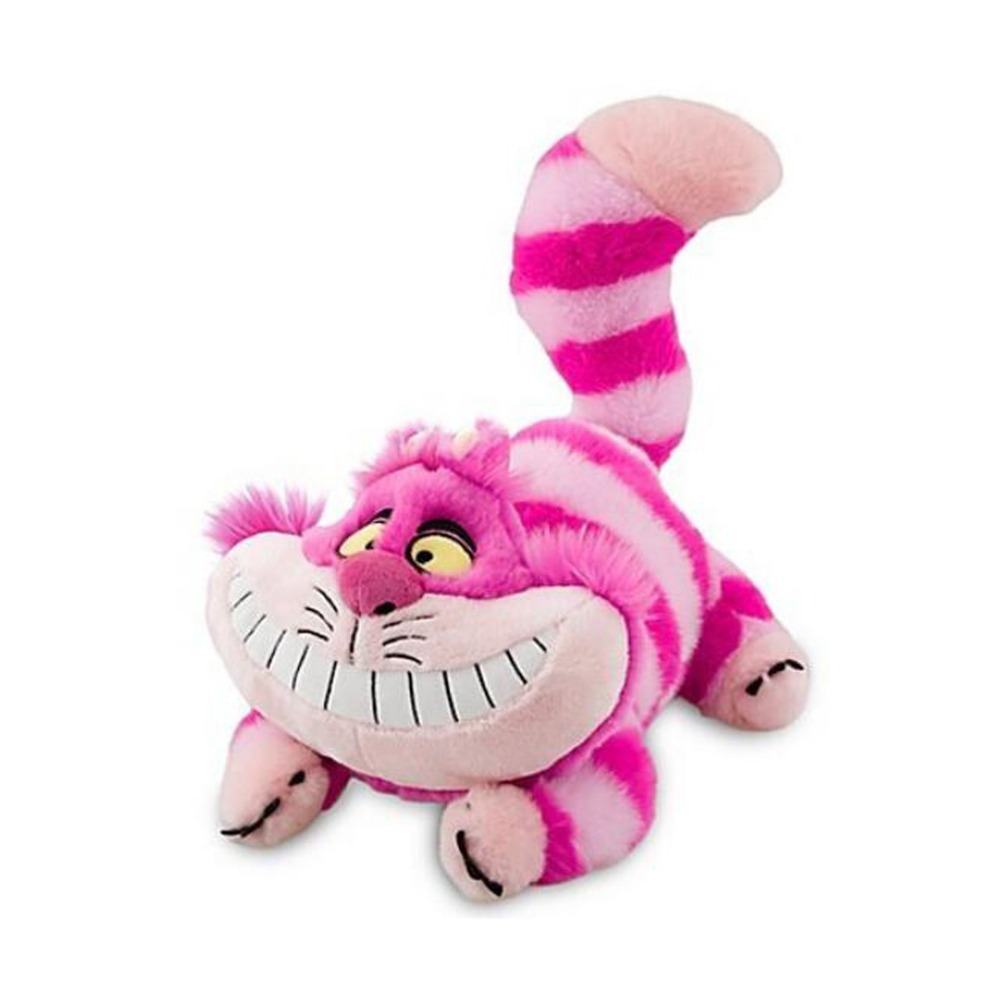 ALICE IN WONDERLAND CHESHIRE CAT PLUSH SOFT TOY 50cm alice in wonderland wall decal quote cheshire sayings we re all mad here vinyl decal for macbooks laptops car windows etc