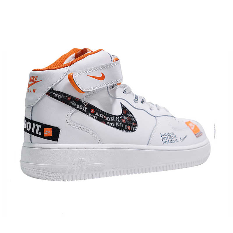 promo code 639ef dbcf6 ... Nike Air Force 1 Mid Men s Just do it Skateboarding Shoes Sport Outdoor  Designer Athletic Sneakers ...