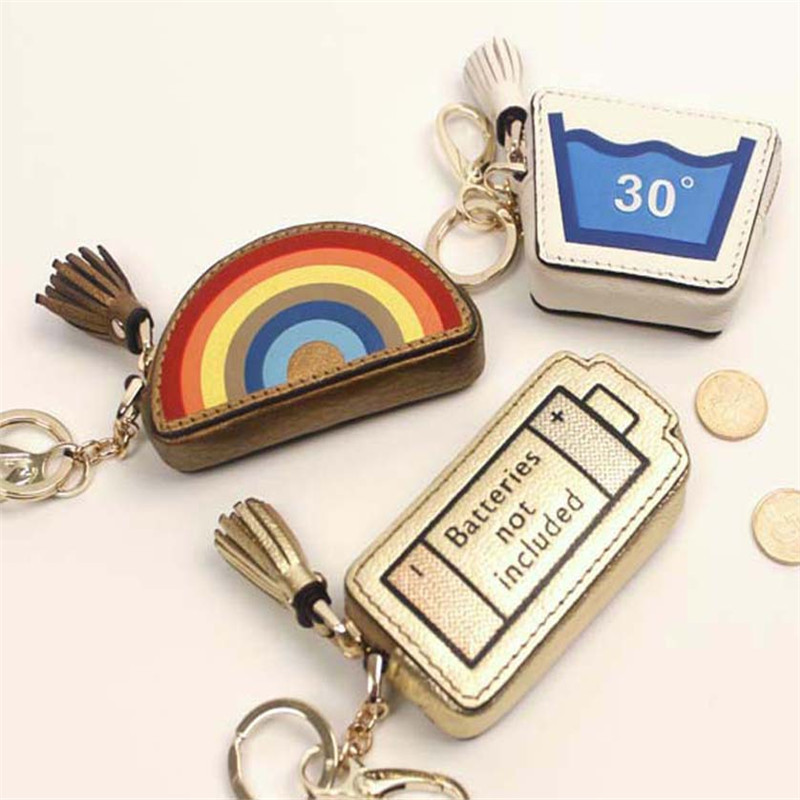 Genuine leather Coin Purse Women Small Change Purses Money Bags Children's Pocket Wallets Key Holder Mini Zipper Pouch