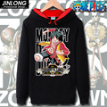 One Piece Anime Sweatshirt Men S-XXXL Fashion Black Pring Long Sleeve Man Hoodies Hooded Casual Classic Cartoon Fleece Pullovers