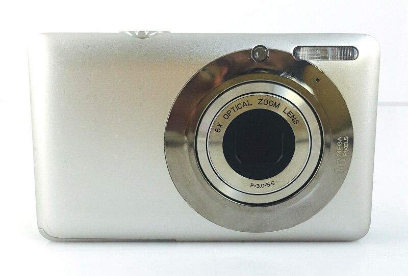 720P HD Professional Digital Camera Mini Cam 16MP 5x Optical Zoom Compact Camera Digital Photo Camera With 2.7 TFT LCD Display720P HD Professional Digital Camera Mini Cam 16MP 5x Optical Zoom Compact Camera Digital Photo Camera With 2.7 TFT LCD Display