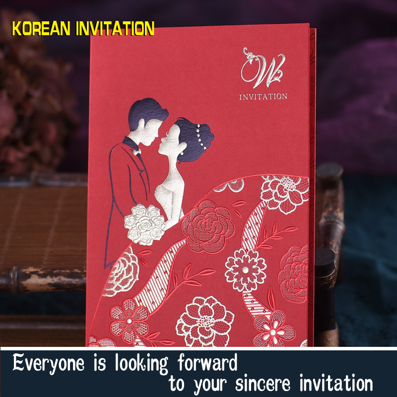20wedding invitations 2016 1610 korean wedding invitation letter 20wedding invitations 2016 1610 korean wedding invitation letter invitation cards can be customized printpackage mail in cards invitations from home stopboris