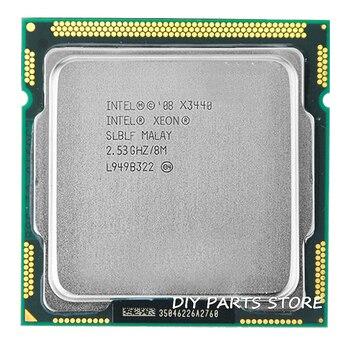 Intel Core Xeon X3440 8เมตรแคช2.53กิกะเฮิร์ตซ์Torbuความถี่2.9 LGA 1156 P55 H55ใกล้กับI5 650 i5 750 i5-760