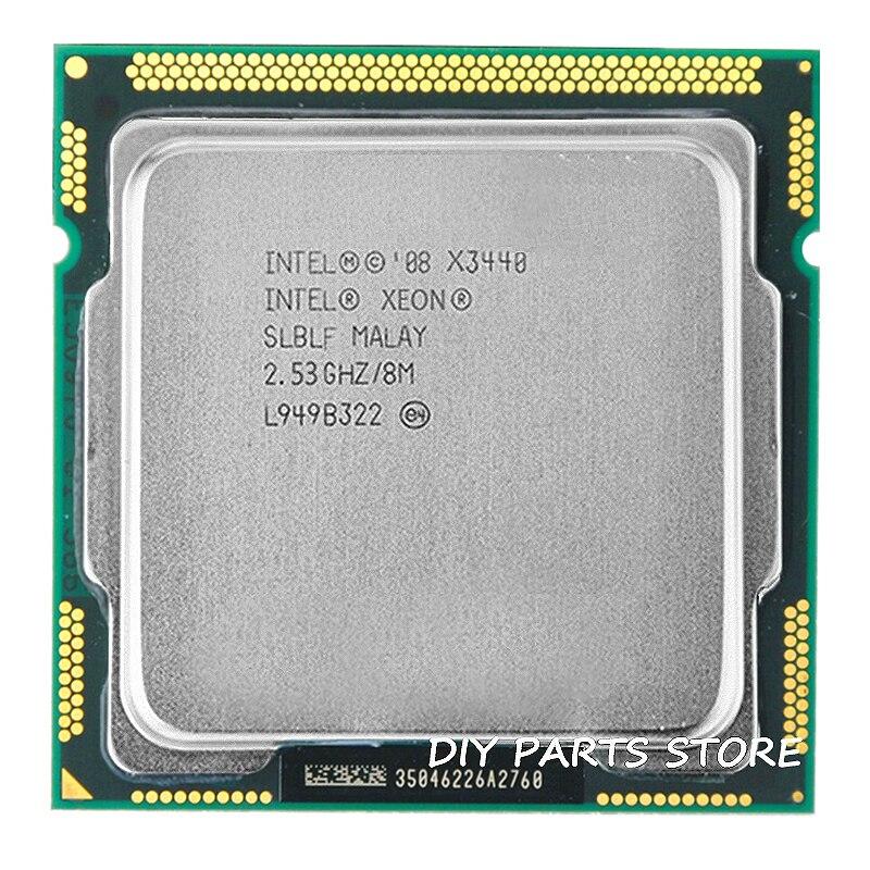 Intel core Xeon X3440 pamięć podręczna 8M 2.53GHz Torbu częstotliwości 2.9 LGA 1156 P55 H55 w pobliżu takich atrakcji, jak I5 650 i5 750 i5-760