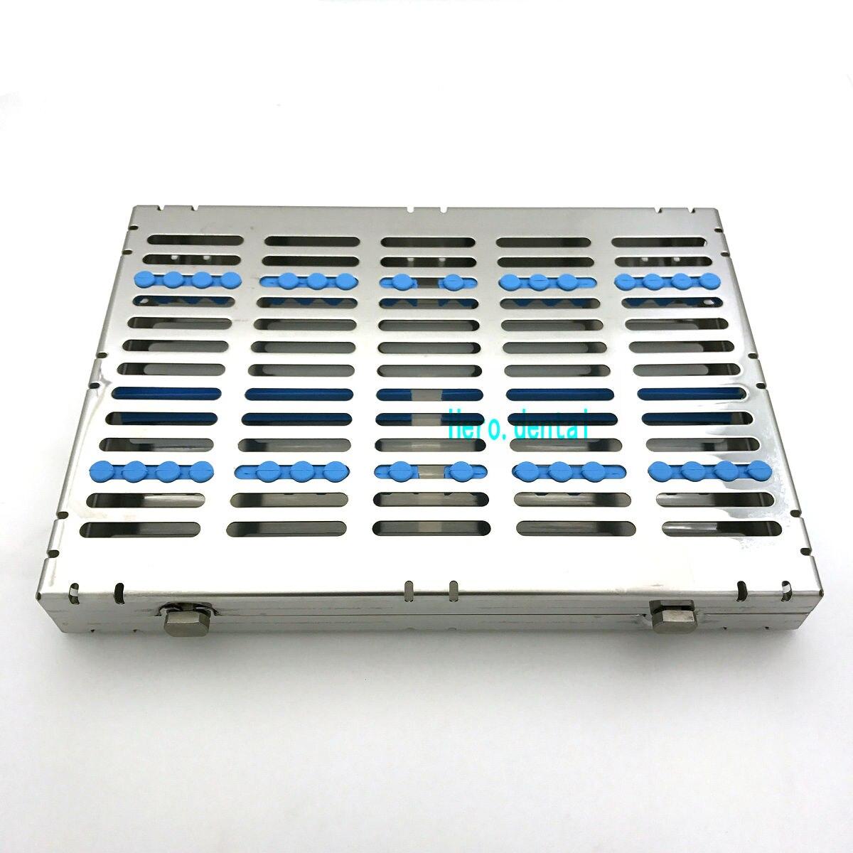 Кассета для зубной стерилизации лоток коробка для 20 хирургических инструментов Распродажа!