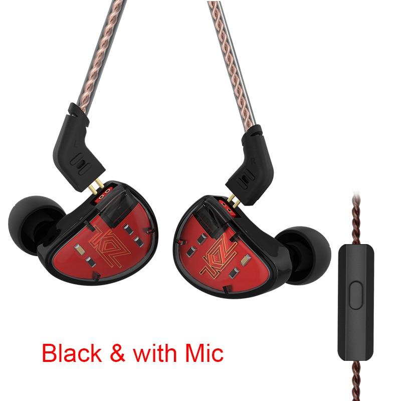 1 Pair 5BA HiFi Stereo In-ear Working Earphone Mic High Resolution Earbuds SGA9981 Pair 5BA HiFi Stereo In-ear Working Earphone Mic High Resolution Earbuds SGA998