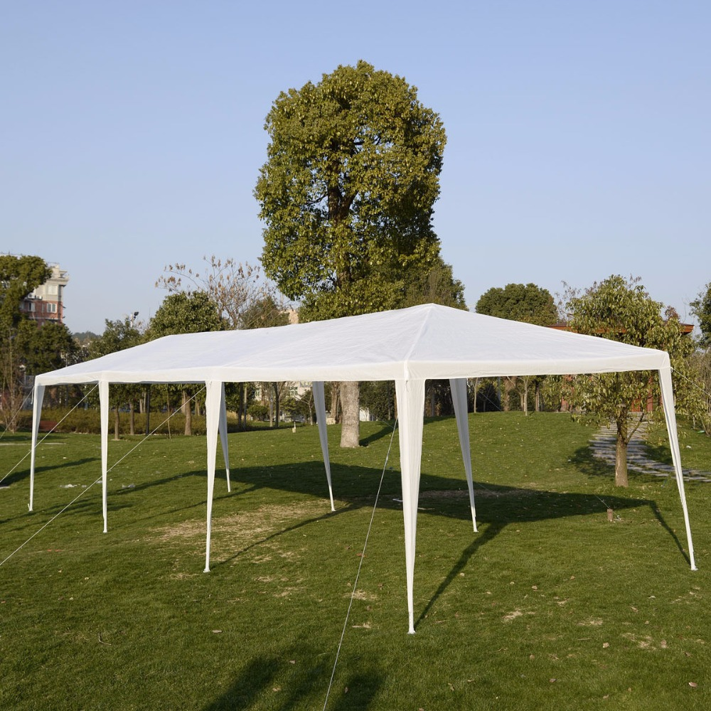 10'x30'Canopy Party Outdoor Wedding Tent Heavy duty Gazebo Pavilion Cater Events AP2013WH - 5