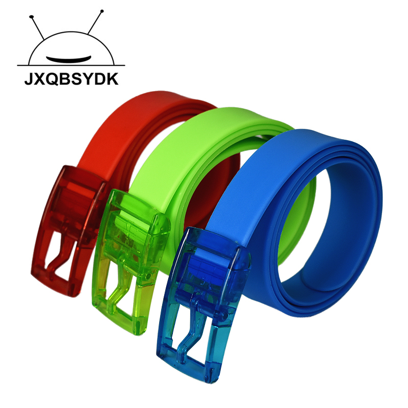 Belts 2017 New Jelly Candy Color s