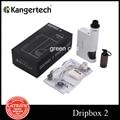 Оригинал Kanger Dripbox 2 Starter Kit Электронная Сигарета Окно Мод 7 мл Subdrip RDA Бак Жидкостью Vape 80 Вт Dripbox 2
