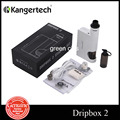Original Kanger Dripbox 2 Starter Kit Electronic Cigarette Box Mod 7ml Subdrip RDA Tank Vape 80W Dripbox 2