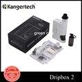 Original kanger dripbox 2 caixa mod starter kit cigarro eletrônico 7 ml tanque rda vape 80 w dripbox subdrip 2