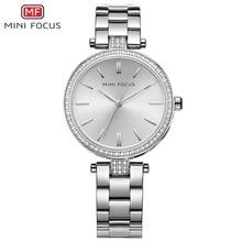 купить MINIFOCUS Famous Brand New Women Watches 2017 Dress Top Fashion Ladies Quartz Watch Female Clock Montre Femme Relogio Feminino по цене 1107.8 рублей