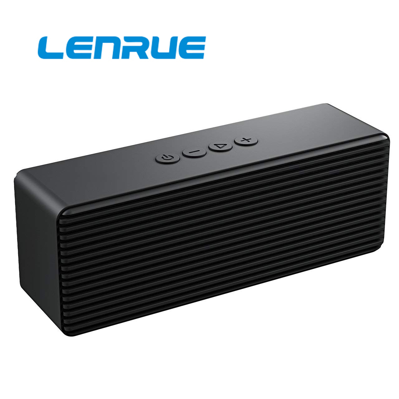 Black Bluetooth Speaker,Portable Wireless Speakers with HD Sound,Longer Playtime Built-in Mic for iPhone//Samsung//Andriod//PC//Laptop Ehco dot Support USB//TF Card//AUX