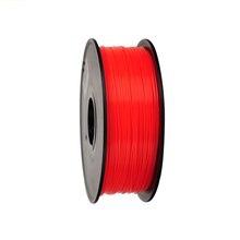 Red Color 3D Printer Filaments PLA 1.75mm/0.5kg Plastic Rod Ribbon Consumables Material Refills For MakerBot/RepRap/UP