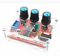 Function Signal Generator DIY Kit Sine Triangle Square Output 1Hz 1MHz Signal Generator Adjustable Frequency Amplitude