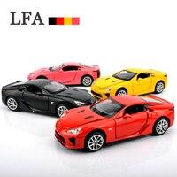 Janpanese Luxury Sport Car LFA MODEL1 32 Metal Diecast Alloy Car Collection Simulation Alloy Toy Metal