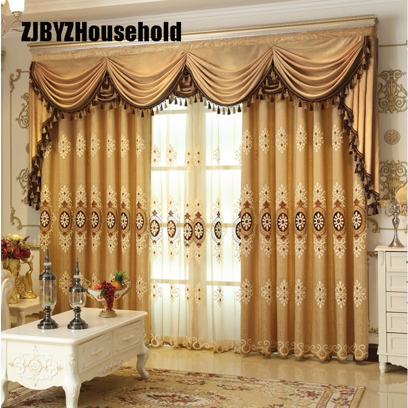 Curtains Luxury Embroidered