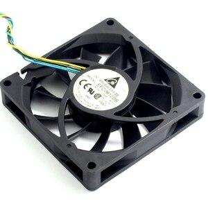 Image 5 - 1pcs 8CM 80MM 8015 8*8*1.5CM 80*80*15MM 12V 0.5A 4 wire PWM Fan EFC0812DB Cooling fan For Delta