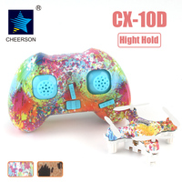 Cheerson CX 10D CX10D Mini 2 4G 6 Axis With High Hold Mode LED RC Mini