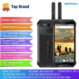 Image 2 - Ulefone鎧 3t IP68 防水携帯電話アンドロイド 8.1 5.7 インチ 21MPエリオP23 オクタコアnfc 10300 トランシーバースマートフォン