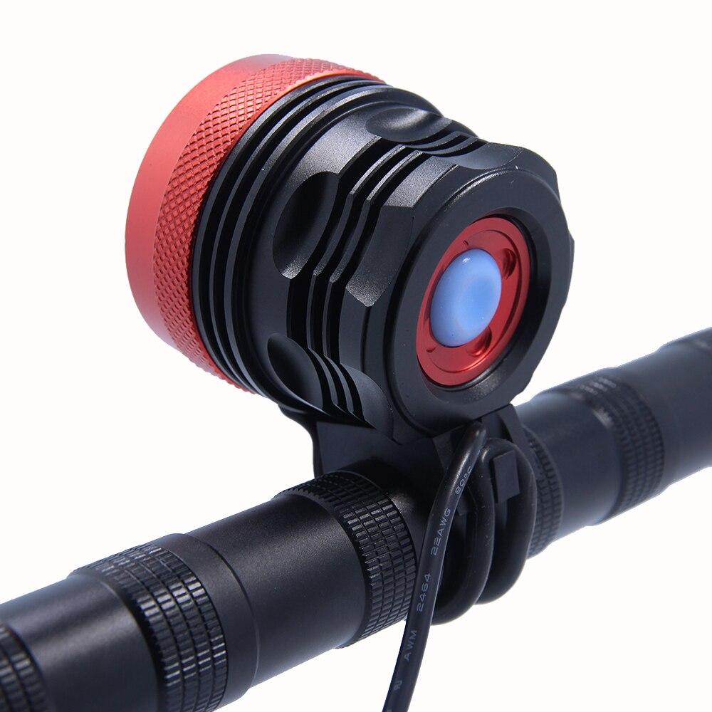 Walkfire 12000lumen 8x XML T6 LED Taschenlampe Fahrrad Licht Lampe - Radfahren - Foto 2