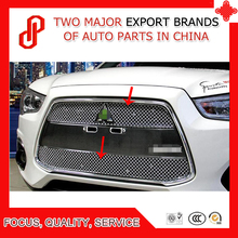 High quality Modification 304 stainless car front grille racing grills grill cover trim for ASX 2013 2014 2015