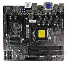 H87 1150 материнская плата используется оригинальный для Biostar ПРИВЕТ-FI H87S3 + LGA 1150 DDR3 RAM 32 Г Настольных Материнских Плат плат