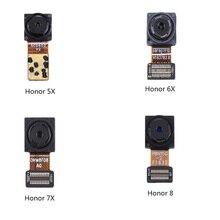 Cámara frontal Sensor de proximidad derecho Cable flexible con micrófono cámara frontal para Huawei Honor 5X 6X 7X Honor8 9 nuevo