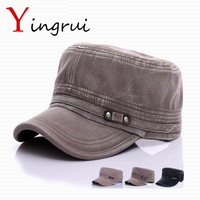 Leisure Men S Flat Cap Golf Sunscreen Hats Unisex Peaked Baseball Cap Solid Casual Snapback Caps