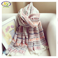1PC 2016 New Design Bohemia Style Fashion Cotton & Linen Women Long Scarf New Woman Soft Cotton Long Pashminas