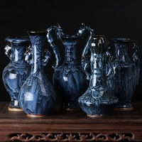 Jingdezhen ceramics porcelain antique vase of modern living room decoration sheet Home Furnishing classical ornaments