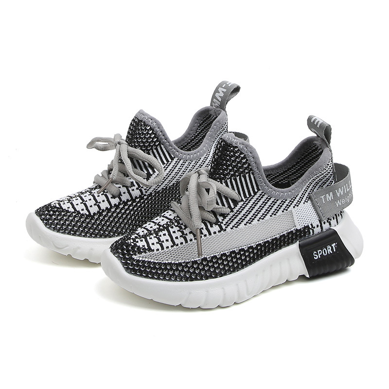 Casual Fashion Breathable Knit Slip Wear Sneakers 5