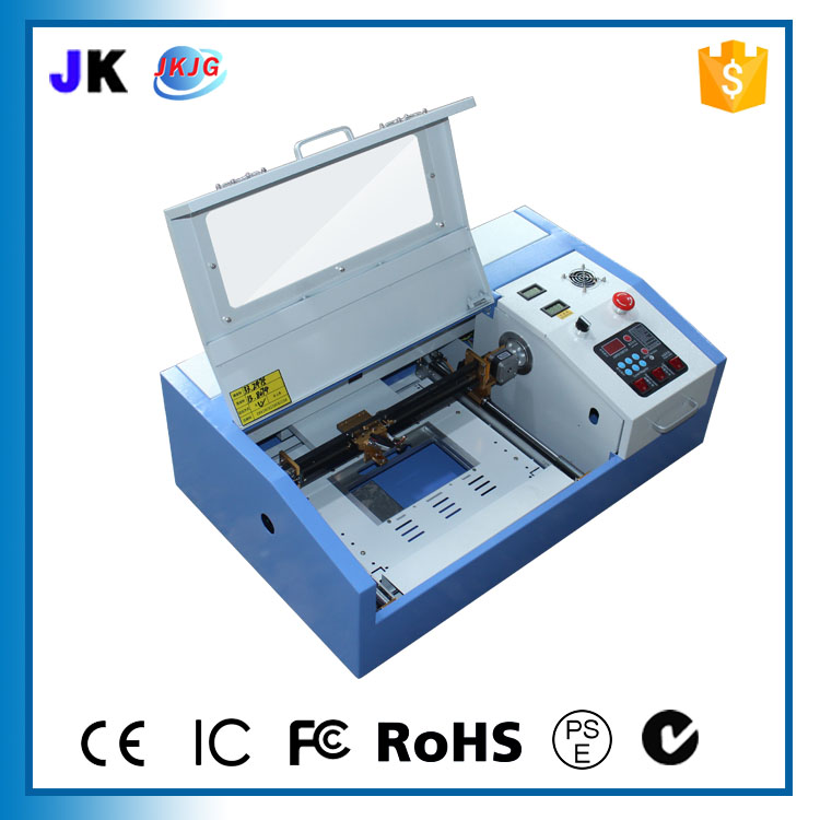 Sliding linear guide laser engraving machine small computer seal bamboo crafts