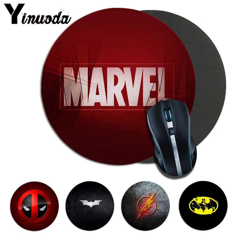Yinuoda Your Own Mats Marvel Comics logo Mousepads gamer gaming Mouse pads round mousepad Rubber Rectangle Mousemats maiyaca marvel comics logo customized laptop gaming mouse pad size for 25x29cm gaming mousepads