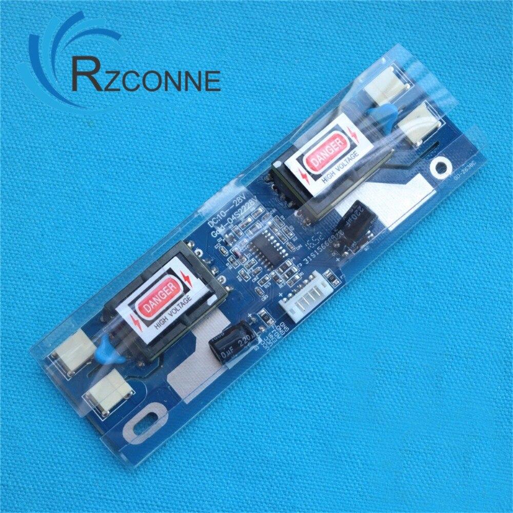 Universal CCFL Inverter LCD Laptop Monitor 4 Lamp 10-30V For 15-22