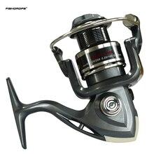 FISHDROPS 1000 6BB 5,5: 1 Рыболовная катушка металлическая Катушка спиннинговая Рыболовная катушка со сменной левой и правой рукой