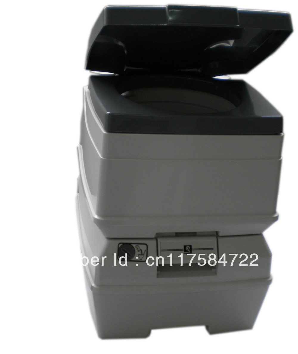 18L home and travel car use resin material new portable toilet,camping toilet,mobile toilet