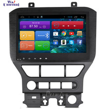 WANUSUAL 10.2 pollice Quad Core 16g Android 7.1 Car Video Player per Ford Mustang 2015 2016 2017 Con Il GPS BT Wifi Mappe 1024*600