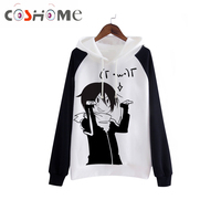 Cosworld Anime Noragami Cosplay Yato Halloween Party Fun Polyester Sportswear Hoodies Thick Warm Jacket